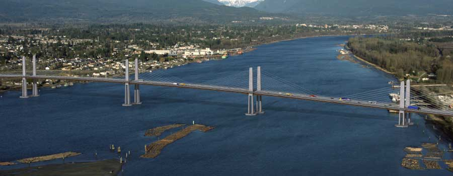 Con-Fume Golden Ears Bridge Project